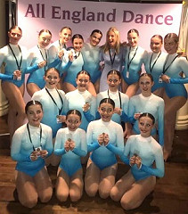 Wow wow wow!!!! It's GOLD for our Inter Modern group at the AED Finals!