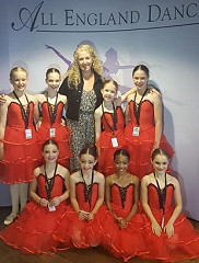 WOW WOW WOW!...it's GOLD for our Junior Ballet Group at All England Dance Finals!!!