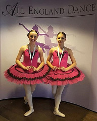BRONZE medal for  Ellie T and Grace P for their  in the Intermediate Ballet duet section!