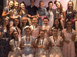 All England Dance 2019 Finals - a fab BRONZE for Graham School of Dance Inter Tap group!