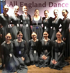 All England Finals 2019 - Congratulations to our Senior Contemporary group...