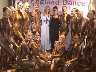 and it's SILVER for our Senior Modern group with 'Hanging Tree' at All England Dance Finals!!