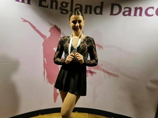 Congratulations to our Amelie - SILVER medal for your solo at All England Finals!
