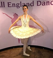 A SILVER for Nicola's Ballet Solo AND place in YOUNG BALLET DANCER competition