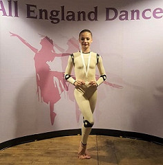 Congratulations Grace P - SILVER for her Contemporary solo at the All England Dance Finals!