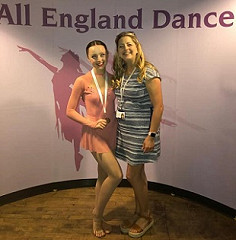 Congratulations Ellie for your All England Dance Finals Bronze Medal!