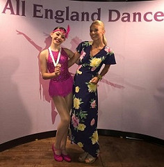 … and it's SILVER for GSD's Isabella C in Song & Dance at the All England Dance Finals!