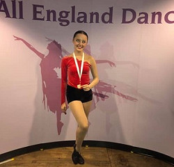 All England Finals 2019 - and it's the BRONZE  medal for Ellie T's Tap solo
