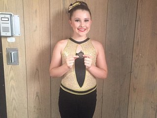 Go Amelie! A fantastic Bronze for your Tap solo!