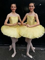 Oh wow - the GOLD medal at the All England Finals for the 14 & under Ballet duets!