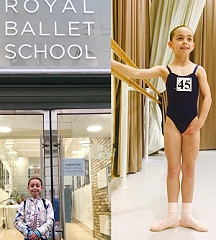 Royal Ballet School JA place for Grace C - well done!