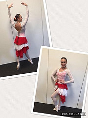 Well done to Isabelle H in her Neo Classical Ballet solo