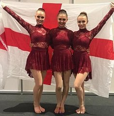 Well done to Georgina, Ellie W and Tiami - Modern Trio at Dance World Cup