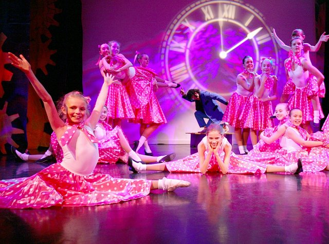 Stage performances and shows are important for the development of our dance school pupils