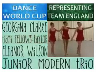 Our next TEAM ENGLAND representatives for the 2017 DANCE WORLD CUP!