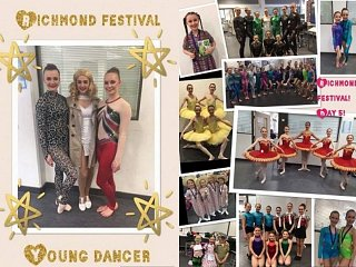 Richmond Festival Day 5..and CONGRATULATIONS to GSD 'Young Dancer of the Year' nominees - and to Ellie for attaining 3rd place!