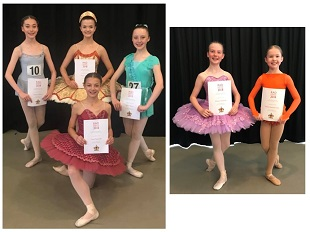 GSD's Grace P wins Vocational Level 1 of the RAD Genée Dance Challenge for 2018 -well done!