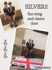 … and the fabulous news continues - FANTASTIC Silver Medal for Isabel B and Sacha at the Dance World Cup - well done girls!